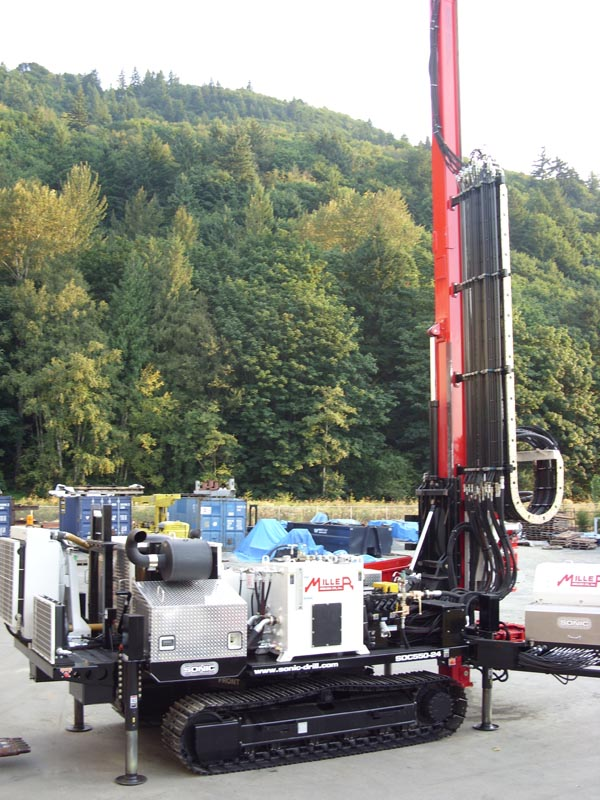 Sonic Drill Corporation Pre Owned Drill Rigs